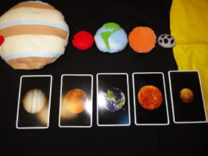 Планеты и карточки 1