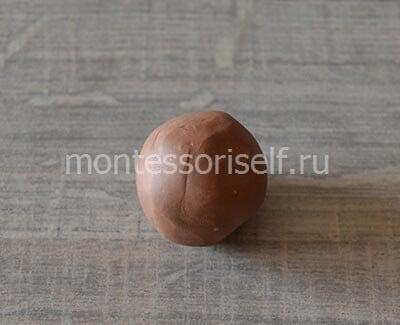 Катаем шарик