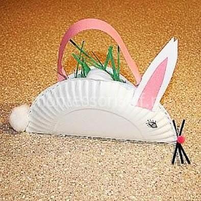 Кролик из тарелки