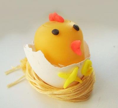 Поделка на Пасху цыпленок