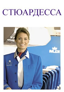 Picture of a flight attendant
