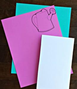 Заготовки для открытки