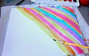 Рисуем радугу