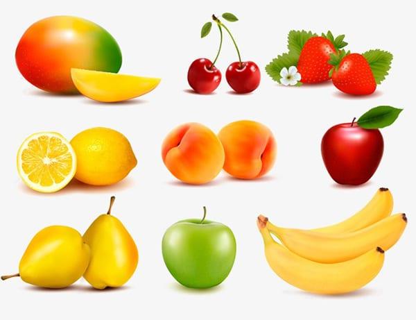 Картинка с фруктами для детей