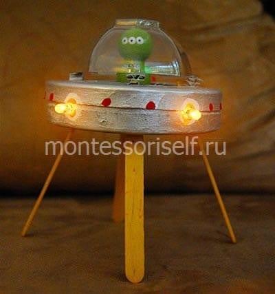 Светодиоды на космическом корабле