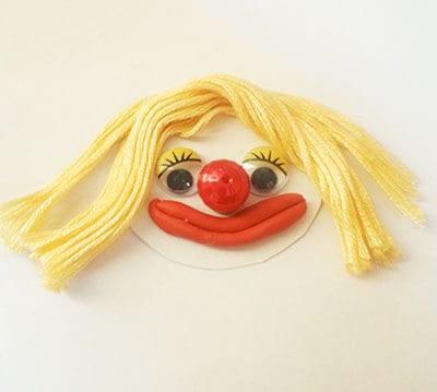 Личико клоуна