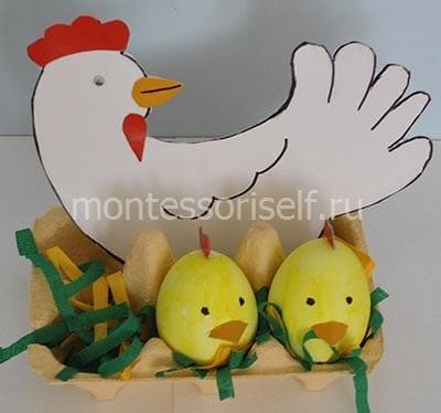 Пасхальный лоток для яичек