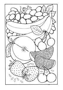 Fruit coloring 5