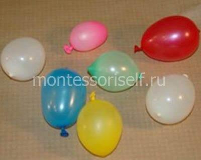 Небольшие воздушные шарики