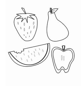 Простые фрукты