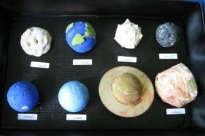Планеты из теста