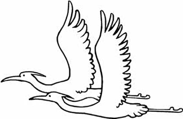 migrating birds coloring pages - photo#19
