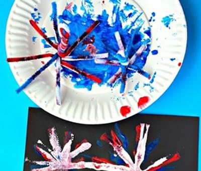 Рисунок синельными палочками