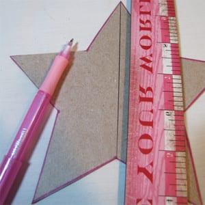 Рисуем линии сгиба 1