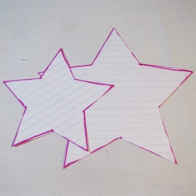 Поделка на 9 мая звезда