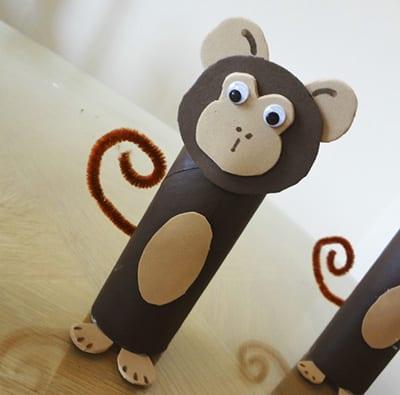 Изготовление обезьянки своими руками