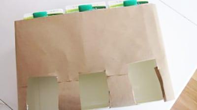 Оборачиваем их бумагой