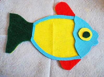 Как сделать рыбку? 3