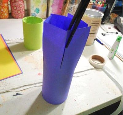 Как украсить стакан под карандаши? 1