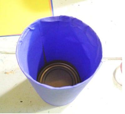 Как украсить стакан под карандаши? 2
