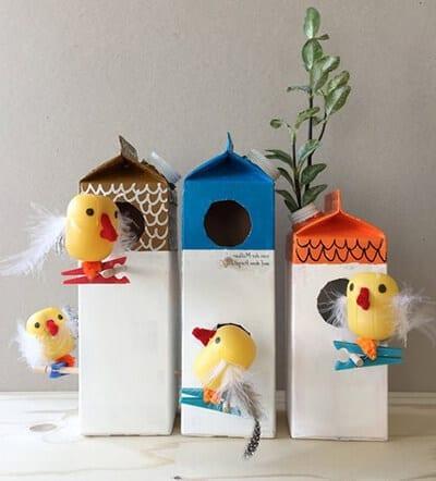 Птички в домике