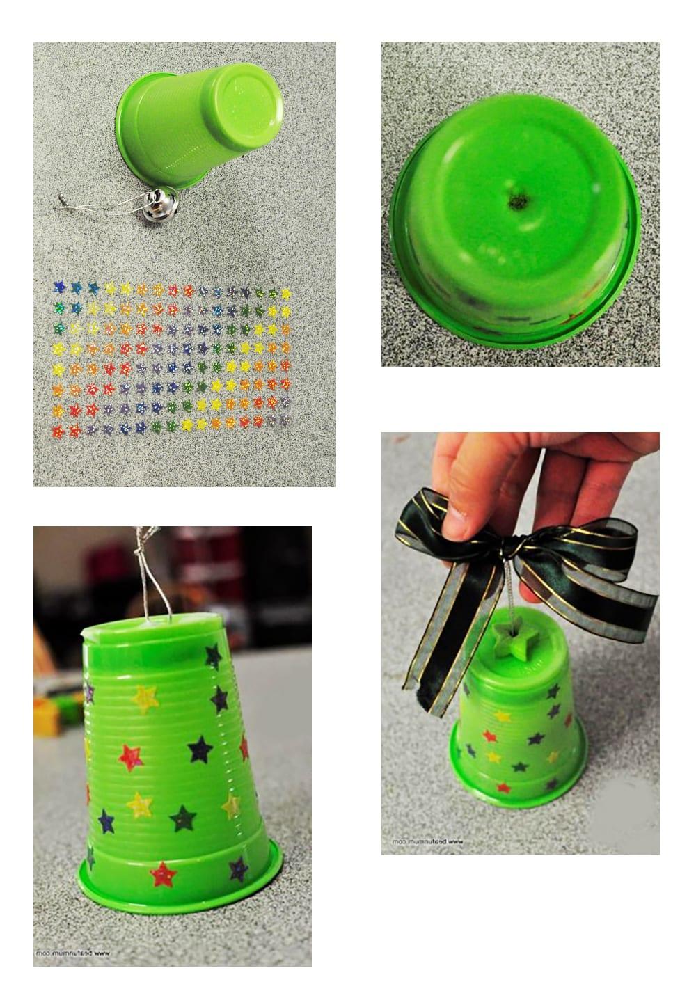 Колокольчики из пластиковых бутылок 1