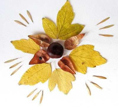Узор из листьев