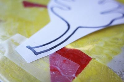 Закрепляем листочки