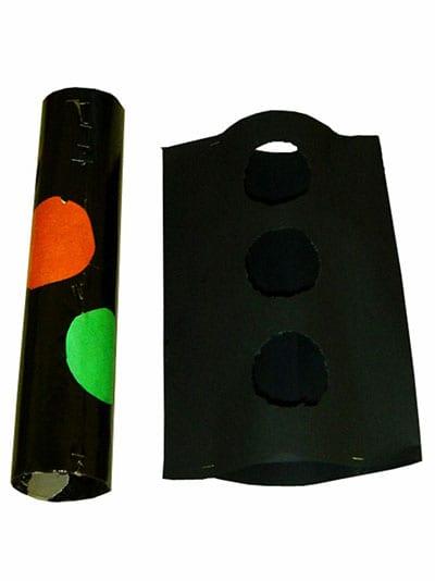 Две детали светофора