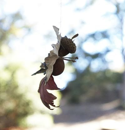 Осеннее украшение фея