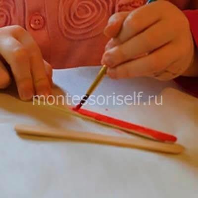 Окрашиваем палочки