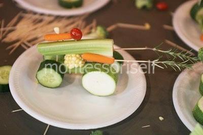 Пушка из овощей