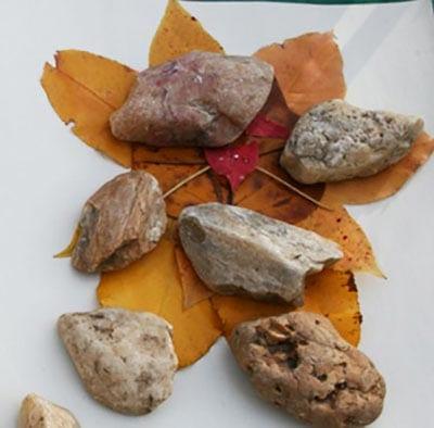 Пресс из камней
