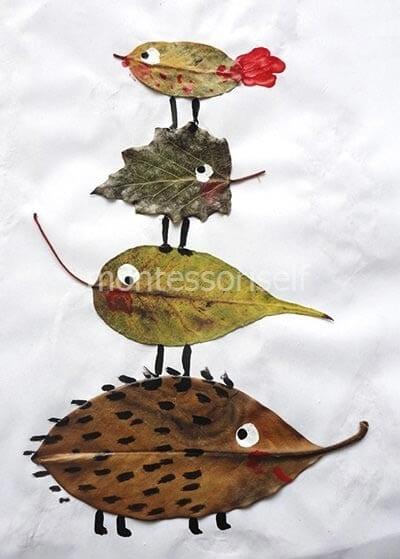 Осенние животные