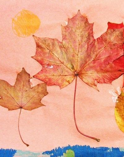 Осенние поделки в детский сад 1