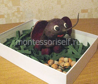 Слоник в коробочке