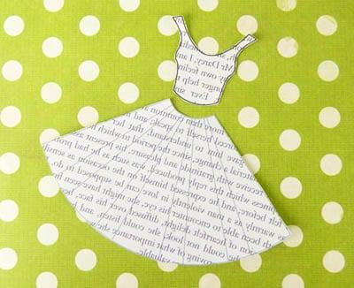 Вырезаем платье