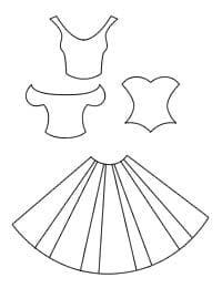 Шаблоны платья