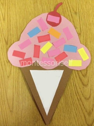 Открытка-мороженое