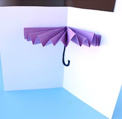 Зонт из бумаги