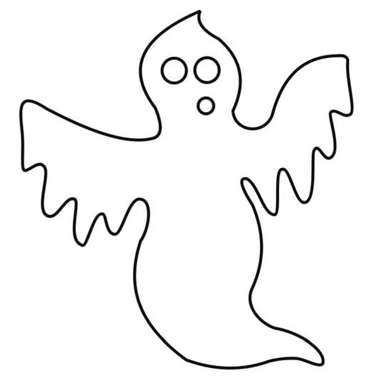 coloring ghost
