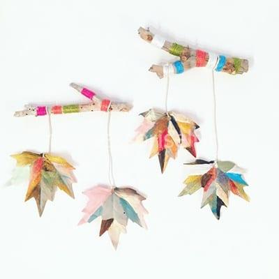 Осенняя подвеска на веточке