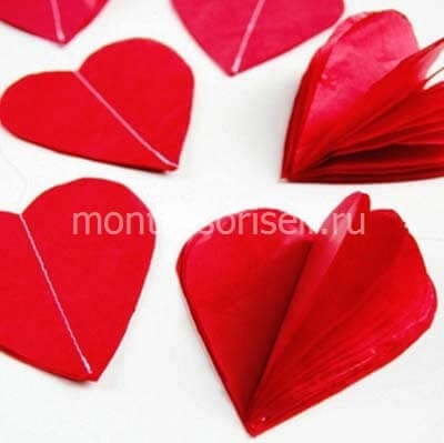 Прошиваем сердечки