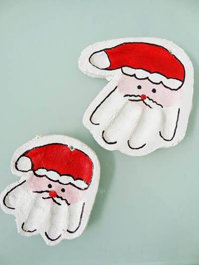 Дед Мороз из соленого теста своими руками