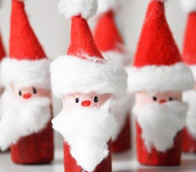 Деды Морозы из пробок