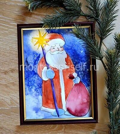 Картина Дед Мороз
