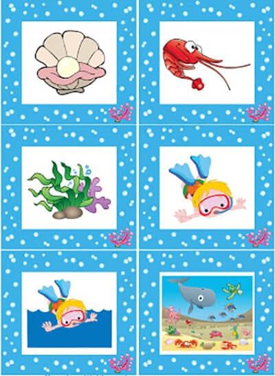 Обитатели моря нарисованные 3