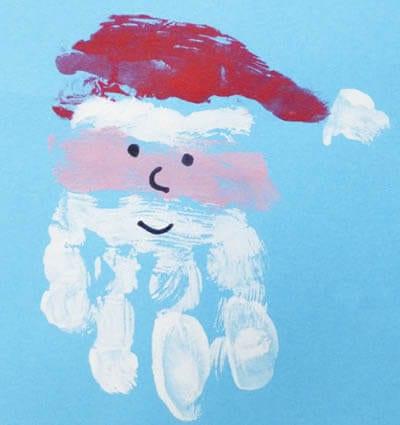 Дорисовываем Деду Морозу лицо