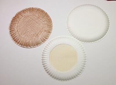 Одноразовые тарелки для поделок