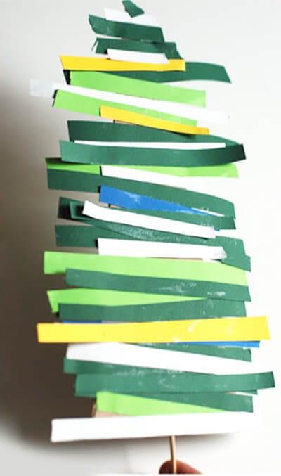 Полоски бумажки